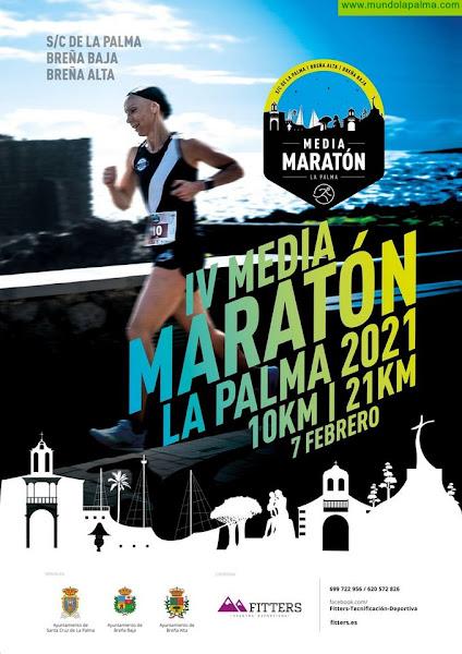 """BREÑA BAJA: IV Media Maratón """"La Palma 2021"""""""