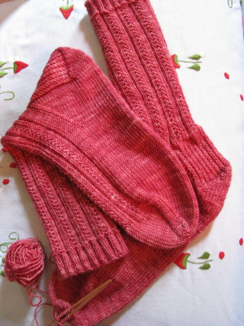 knitnscribble.com: Easy free sock pattern