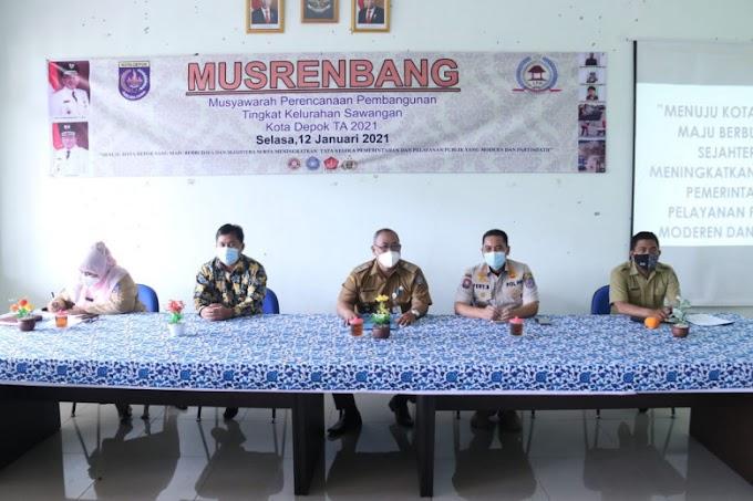 Pembangunan Drainase dan Penerangan Jalan Jadi Prioritas Musrenbang Kelurahan Sawangan