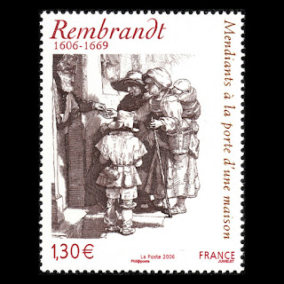 Rembrandt, Dutch painter and illustrator France
