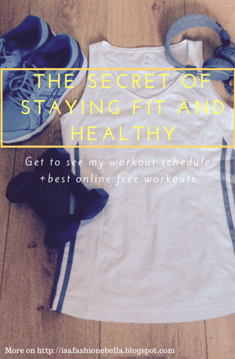 The secret of staying fit and healthy