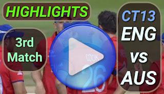 ENG vs AUS 3rd Match