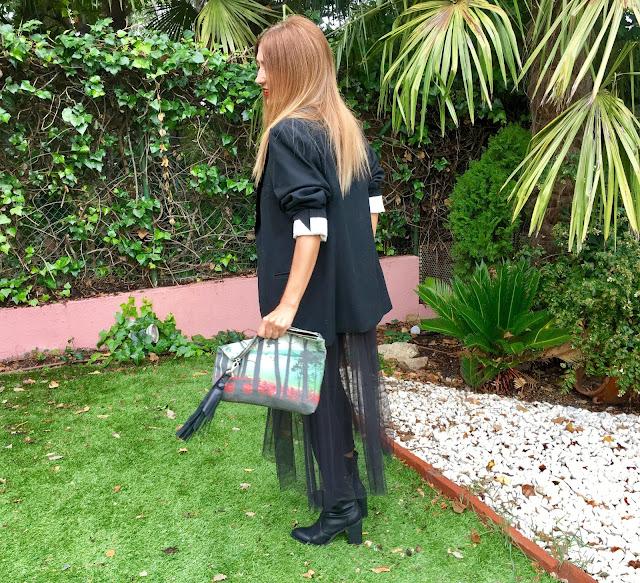 Dark, Street Style, Look, Smoking, Tul, Dress, T-shirt, Zubi, Bag, lifestyle