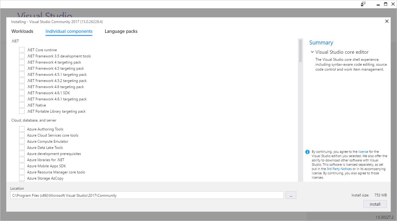 คนคอมพิวเตอร์: วิธีติดตั้ง Visual Studio Community