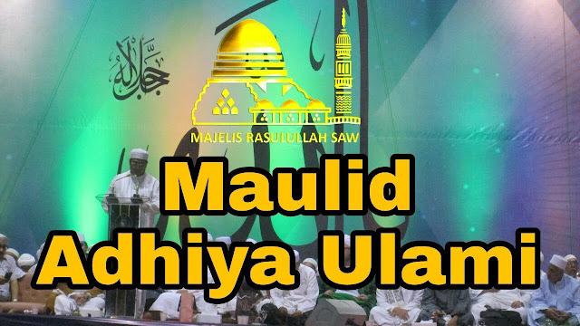 Lirik Syiir Maulid Addhiya Ullami' Hadza Waqod Nasyarol Ilahu