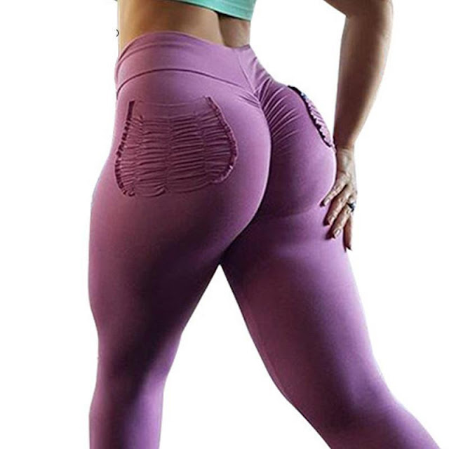 Women's High Waist Push-Up Fitness Leggings