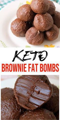 5 ingredient fat bombs that everyone will love! These are the BEST keto brownie fat bombs with a super easy recipe. These tasty little chocolate brownie keto fat bombs are a yummy treat