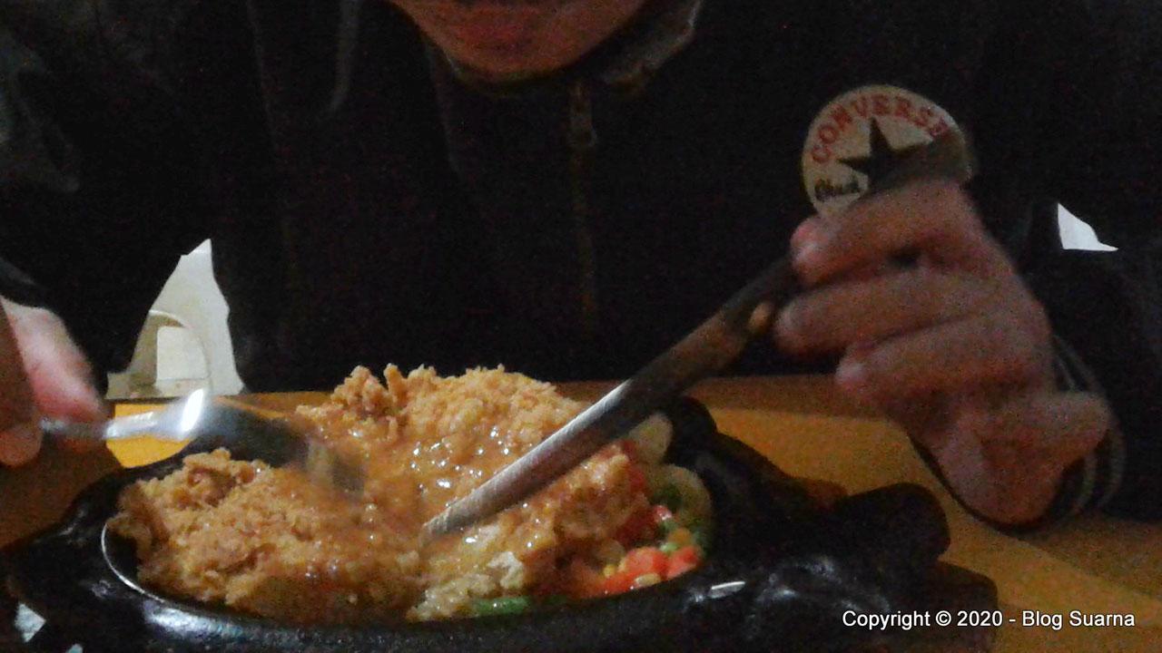 Review Steak Ayam Daerah Sumedang Jatinangor