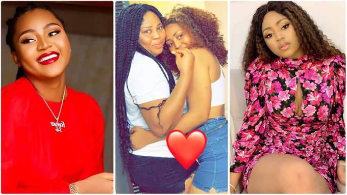 Nollywood actress Regina Daniels unveils beautiful back tattoo in honour of her mum