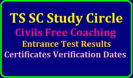 TS SC Study Circle Civils Free Coaching Results, Certificates Verification dates 2019 /2019/06/TS-SC-Study-Circle-Civils-Free-Coaching-Results-Certificates-Verification-date-2019http//studycircle.cgg-gov.in.html