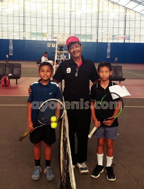 Tumbangkan Unggulan, Bima Ahmad Melaju ke Putaran 2 Kejurnas Tenis New Armada Cup XXIV