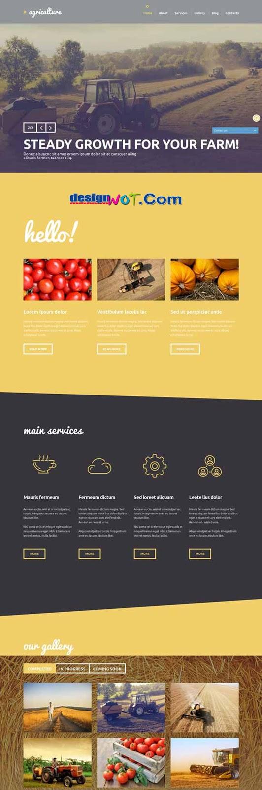 Crop Farming WordPress Theme