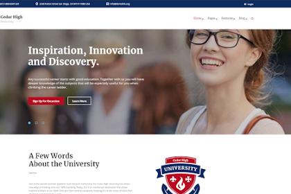 5 Tema Wordpress Terbaik untuk Sekolah dan Kampus (Universitas)