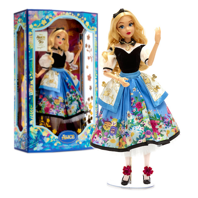 Disney Alice in Wonderland by Mary Blair Limited Edition Doll 01