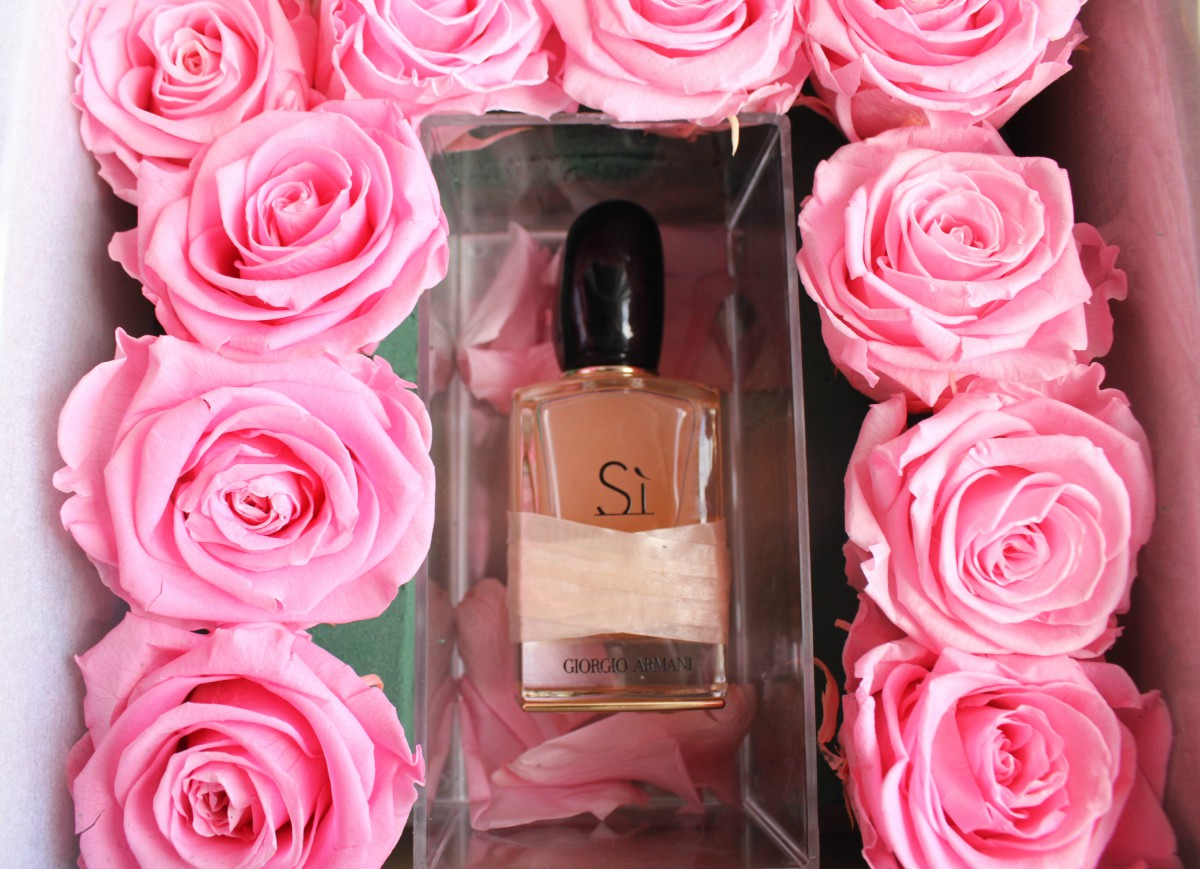 latest discount detailed images best supplier Giorgio Armani Si Rose Eau de Parfum | The Sunday Girl