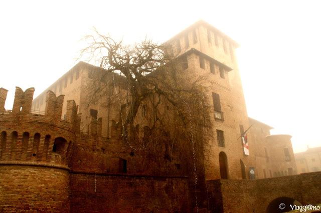 La Rocca Sanvitale nel centro di Fontanellato
