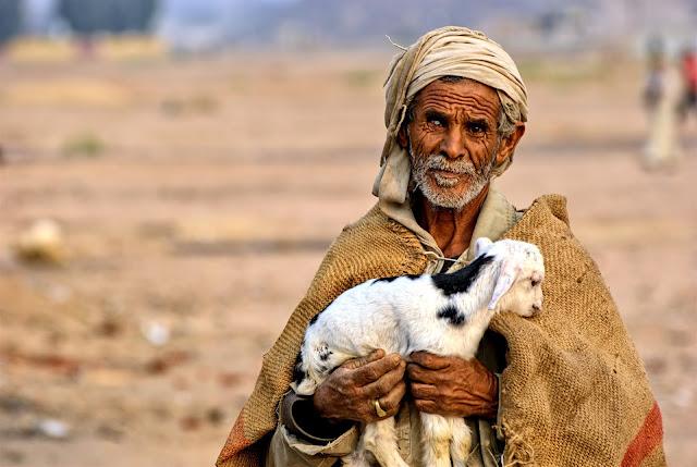 Imagen de una persona caucásica (marroquí) la cual es habitante del norte de Africa