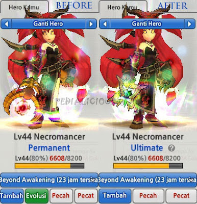Necromancer Evolution Lost Saga Indonesia