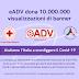 eADV dona 10.000.000 visualizzazioni di banner alla Croce Rossa Italiana e Protezione Civile