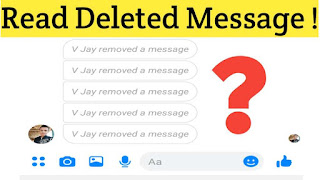 How To Read Deleted Facebook Message Latest & Working Method 2020