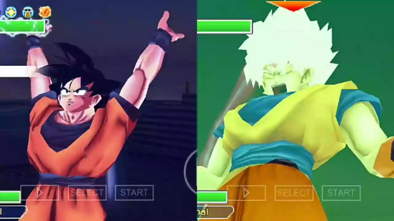 Goku Super Saiyan white and Omni God