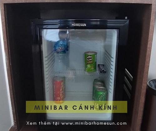 Tủ mát minibar cánh kính - Homesun