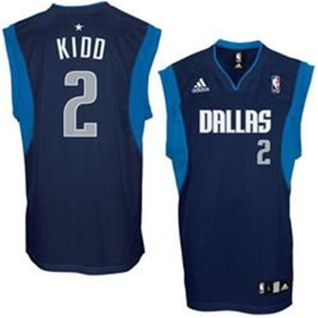 brand new cb074 8525a nba jerseys dallas mavericks 2 kidd blue jerseys