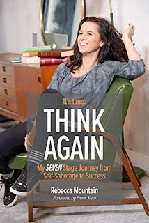 Think Again - Motivational Self Help book by Rebecca Mountain - book promotion services
