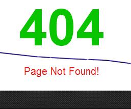 Stylish Custom 404 Error Page for Blogger Blog