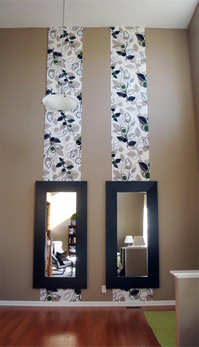 Sua casa seu espelho lindo como papel de parede e bem - Papel de pared barato ...
