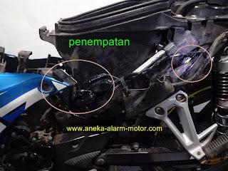 Cara pasang alarm motor Suzuki Satria F115 Young Star