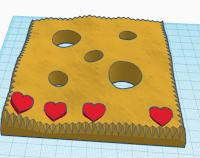 heart shape on terrain