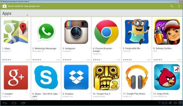 تحميل وتنزيل أخر إصدار من برنامج سوق جوجل بلاي عربي