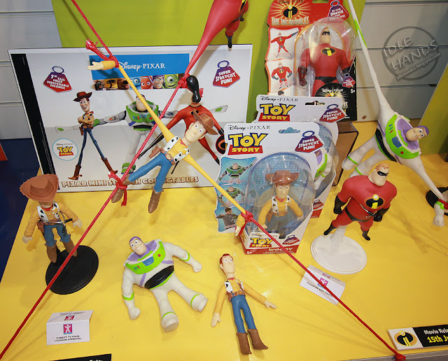Toy Fair 2017 Character Group Stretch Figures Disney Toy Story and The Incredibles