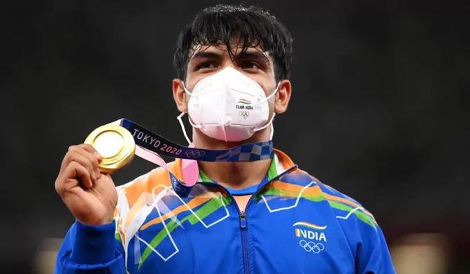 Neeraj Chopra Olympian 2021