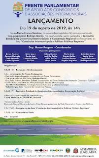 Lançamento da Frente Parlamentar de apoio aos Consórcios e Associações Intermunicipais