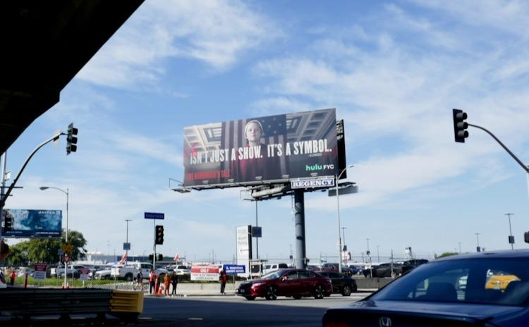 Handmaids Tale season 3 Isnt just show a symbol billboard