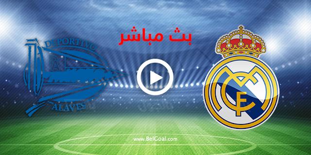 موعد مباراة ريال مدريد وديبورتيفو ألافيس بث مباشر بتاريخ 28-11-2020 الدوري الاسباني