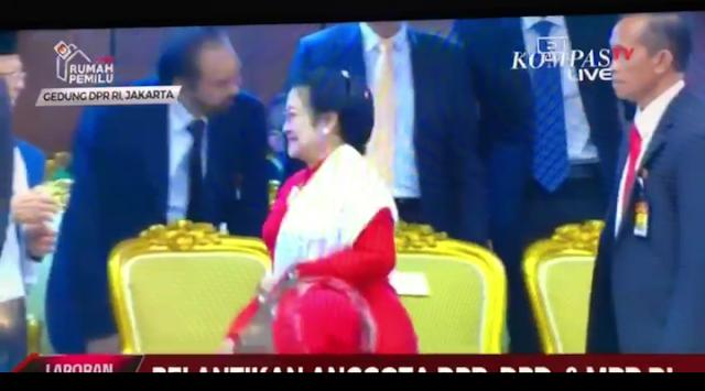 Tak Mau Salaman dengan Surya Paloh dan AHY, Megawati bukan Negarawan