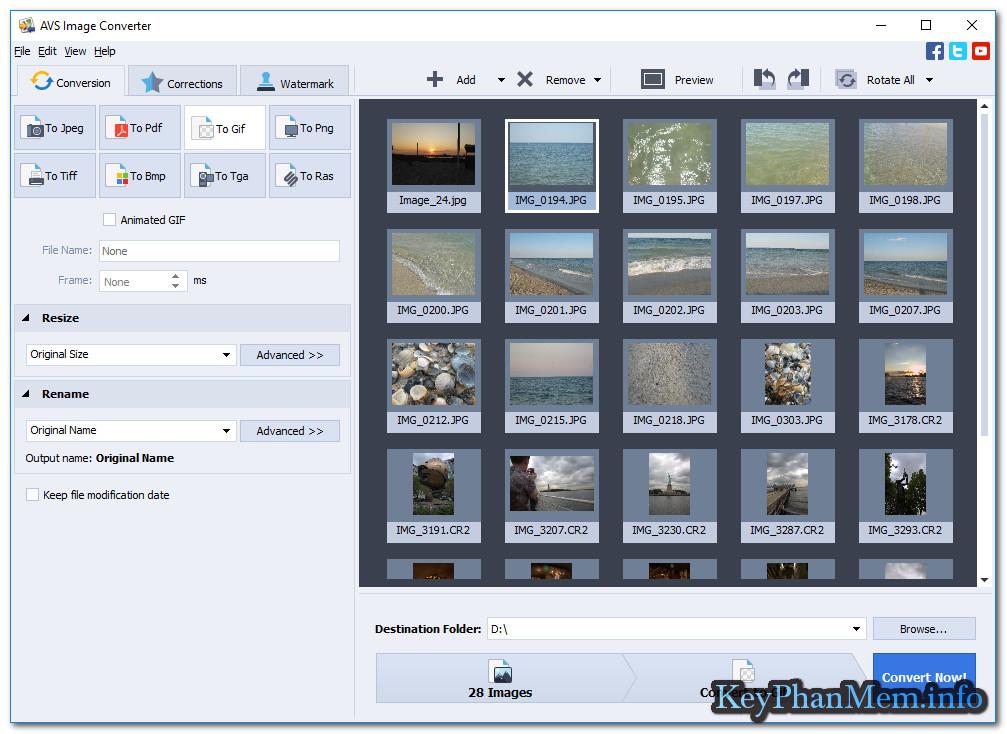 Download AVS Image Converter 5.1.1.296 Full Key,Phầm mềm chuyển định dạng và Watermark cho ảnh