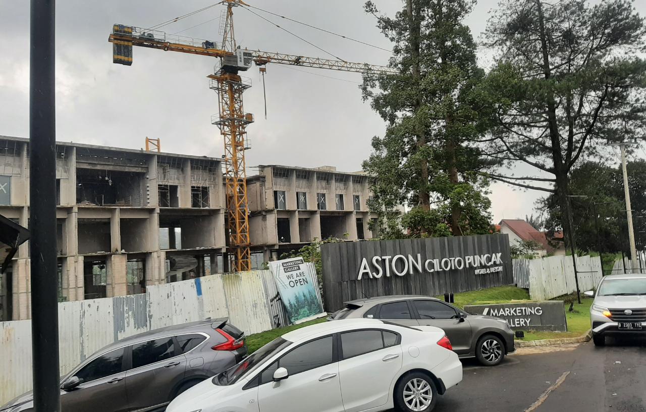 Pembangunan Aston Ciloto Puncak Disorot Dishub Cianjur, Ada Apa?