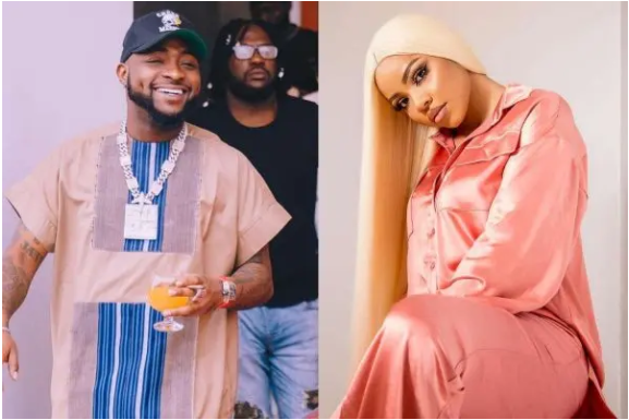 Davido and Nengi Unfollows each other on Instagram