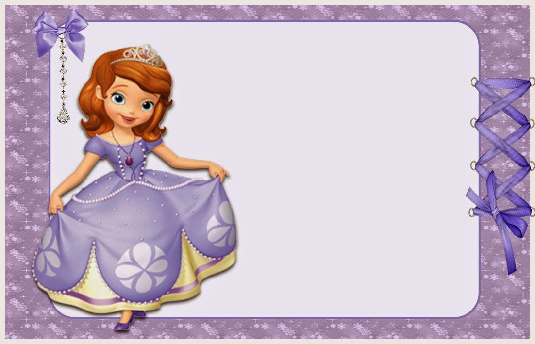 sofia the first free printable