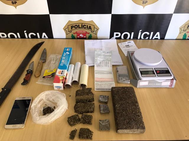 Polícia Civil prende em flagrante responsável por depósito e transporte de drogas em Registro-SP