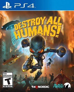 Destroy All Humans 2020 Arabic