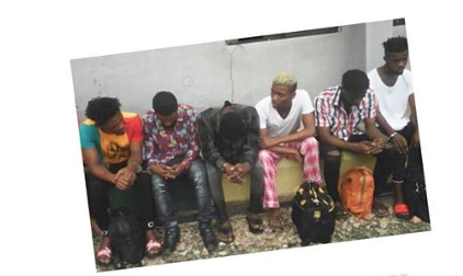 Police arrested 6 suspected homosexuals in Aba hotel