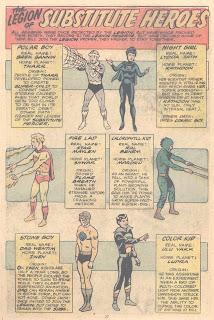 Legion Sustitute Heroes
