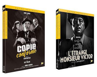 L'Etrange Monsieur Victor Copie conforme Blu-ray CINEBLOGYWOOD