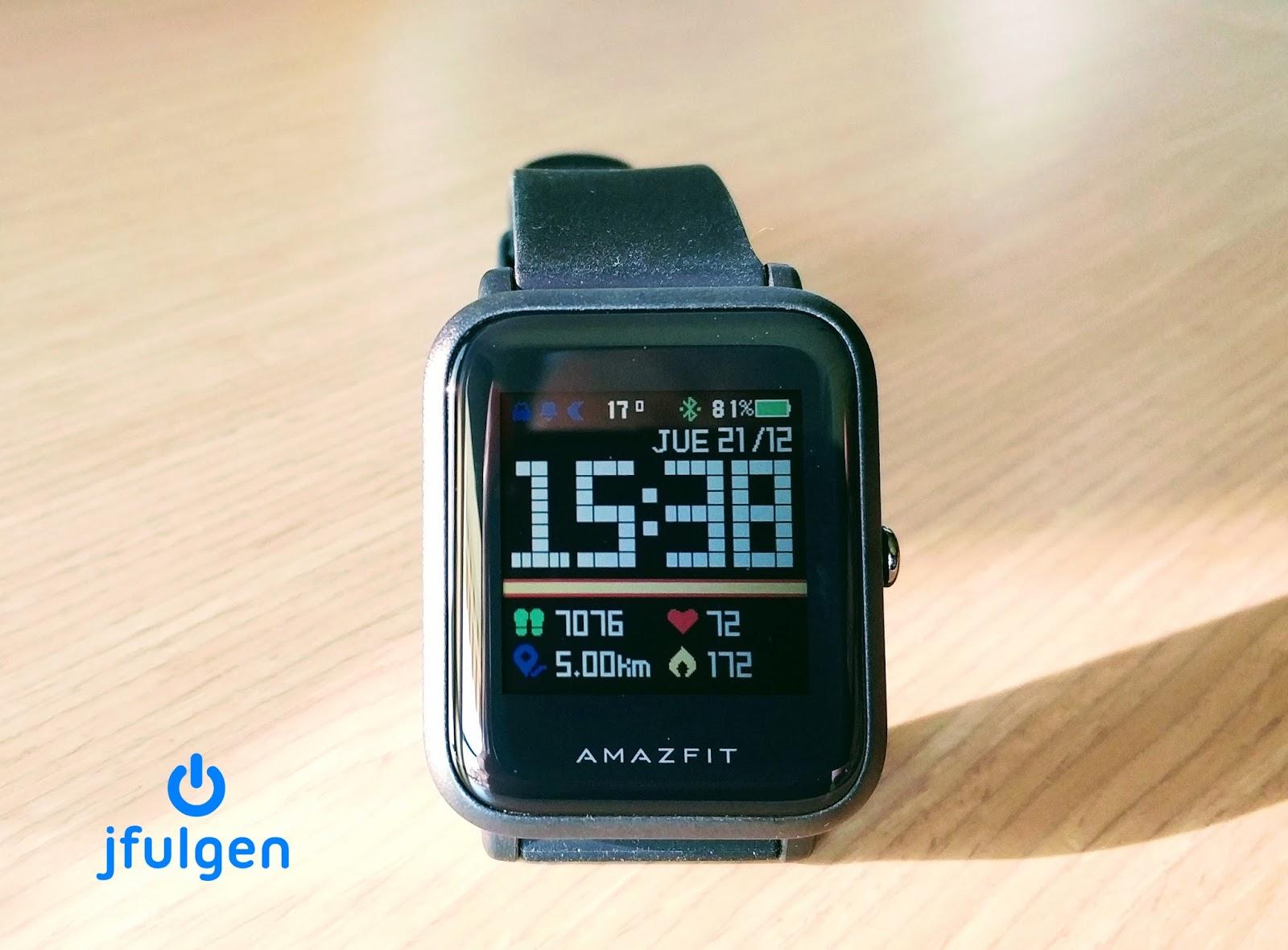 jfulgen blog: AmazFit Bip Instalar Watchfaces Personalizados