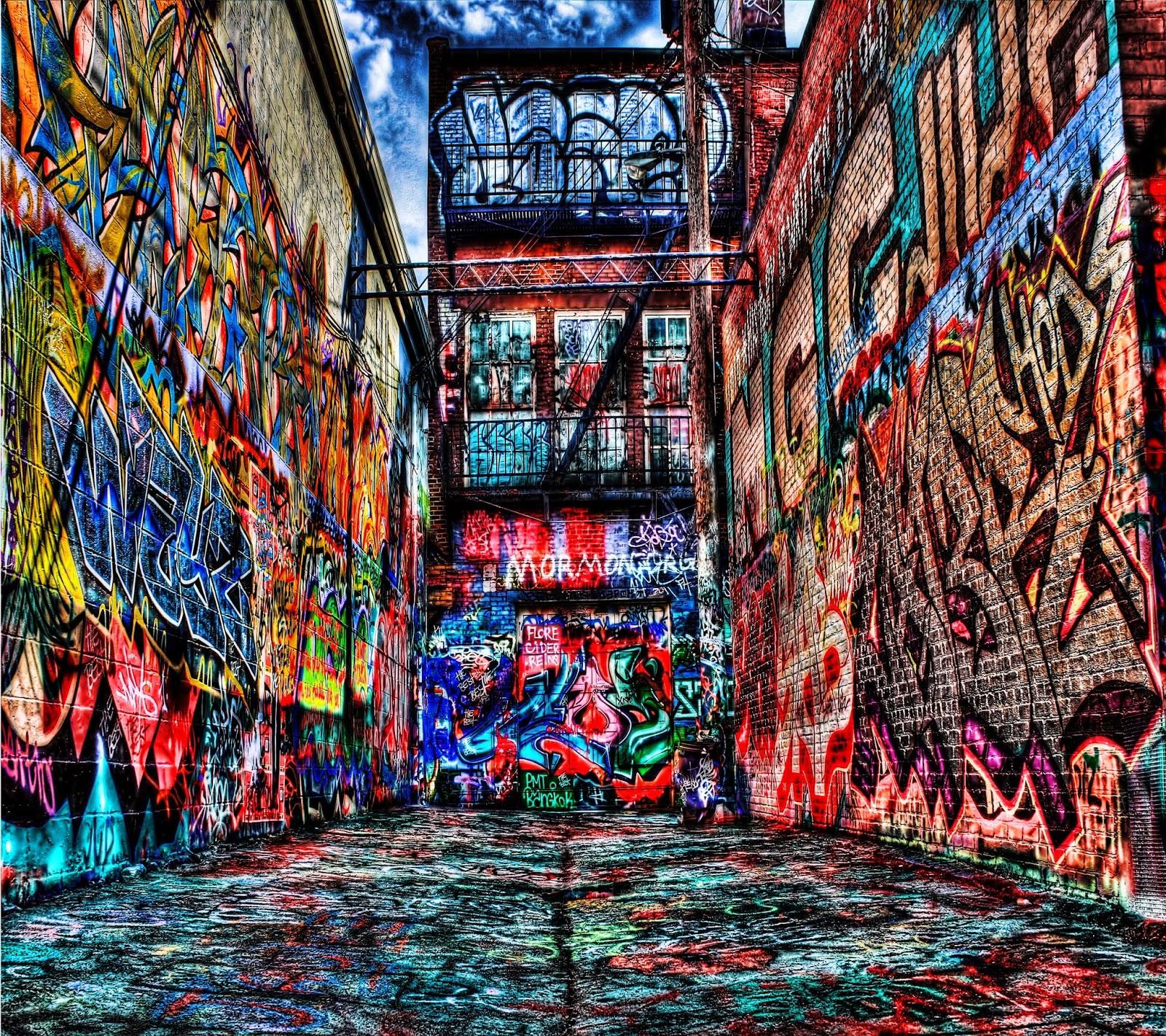 25+ Wallpaper Graffiti Keren Untuk HP Android - Fone Tekno